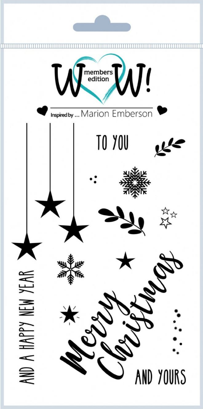 To You & Yours (by Marion Emberson) - Clear Stamp Set